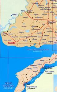 Εκδρομή 20-3-2016: χάρτης